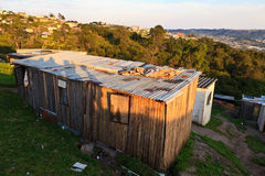 A house in a township in South Africa Royalty Free Stock Photos