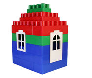 House toy. With door Stock Photography