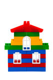 House from toy bricks Royalty Free Stock Photos