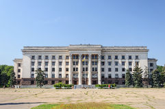 House of Trade Unions in Odessa Stock Photos
