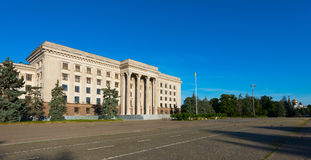 The House of Trade Unions. Odessa Stock Photo