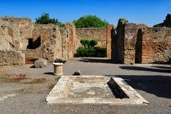 The House of the Tragic Poet, Pompeii stock photos