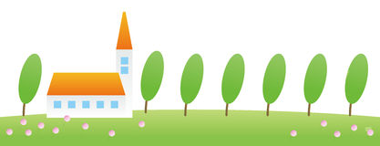 House & tree Royalty Free Stock Images