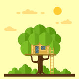 House on tree Stock Images