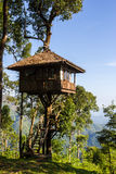 House on tree at Thong Pha Phum National Park Stock Photos