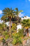 House in tropical garden Royalty Free Stock Photos