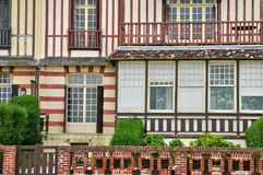 House in Trouville sur Mer in Normandie Royalty Free Stock Image