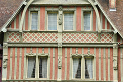 House in Trouville sur Mer in Normandie Stock Photography