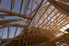 House truss Royalty Free Stock Image
