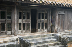 House in Tu Duc Tomb. Hue, Vietnam. Royalty Free Stock Photography