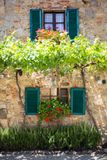 House in Tuscany, Italy. Royalty Free Stock Images