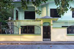 Mexican House. A house at Tuxpan, Mexico at Veracruz stock photo