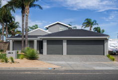 House. Typical Australian residential house closeup Royalty Free Stock Photography