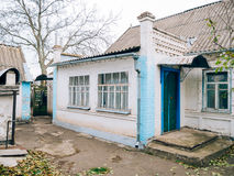 House in the Ukrainian village Royalty Free Stock Photography