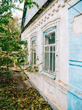 House in the Ukrainian village Royalty Free Stock Images