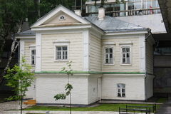 House Ulyanov family lived in the city centre of the former Simbirsk Royalty Free Stock Photo