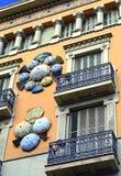 House of Umbrellas, Barcelona Spain Stock Photo