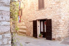 House in Umbria Royalty Free Stock Images