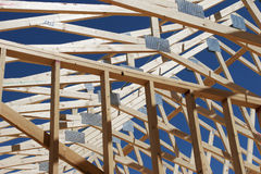 House under construction Stock Image