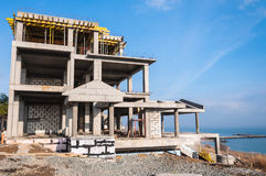House under construction Royalty Free Stock Photo