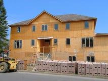 House under construction Stock Photo
