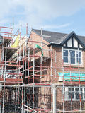 House under construction. Residential house under construction UK Stock Photo