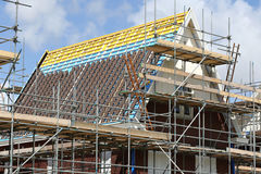 House under construction Stock Photography