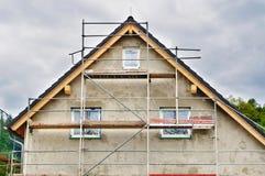 House under construction. Stock Image