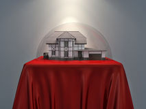 House under the dome Royalty Free Stock Images
