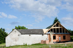 House under reconstruction Stock Photography