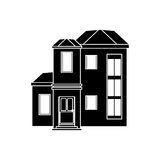 House urban expensive pictogram. Vector illustration eps 10 Stock Image
