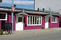 House in Ushuaia. A traditional house in the city of Ushuaia, in argentina Royalty Free Stock Photo
