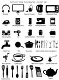 House Utensils Vector Set Stock Photography