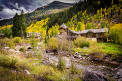House in Vail Stock Photos