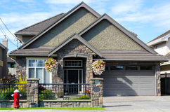House in Vancouver Stock Images