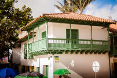 The house of the vase, la casa del florero bogota colombia Stock Photography