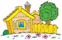 House (vector clip-art) Stock Image