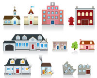 House Vector Icon. Community concept icons for your design idea Royalty Free Stock Images