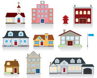House Vector Icon. Community concept icons for your design idea Stock Photos