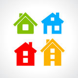 House vector icons Stock Images