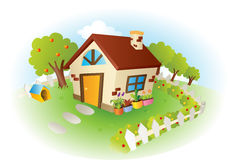 House vector illustration Royalty Free Stock Images
