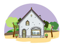 House. Vector illustration of an old house, EPS 8 file Vector Illustration