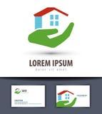 House vector logo design template. building or Stock Photos