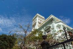 House. Vegueta neighborhood. Las Palmas de Gran Canaria. The Canary Islands. Spain Royalty Free Stock Images