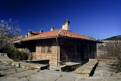 House from Veliko Tarnovo. Hous from Veliko Tarnovo - famous as the capital of the Second Bulgarian empire Royalty Free Stock Image