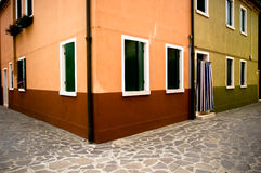 House in venice. Old house in venice center Royalty Free Stock Image