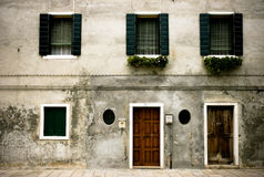 House in venice. Old house in venice center Royalty Free Stock Photography