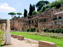 House of the Vestals, Rome Royalty Free Stock Photos
