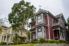 House in the Victorian in Los Angeles, California, USA Royalty Free Stock Photography