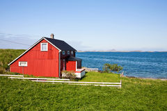 House with a view Stock Images